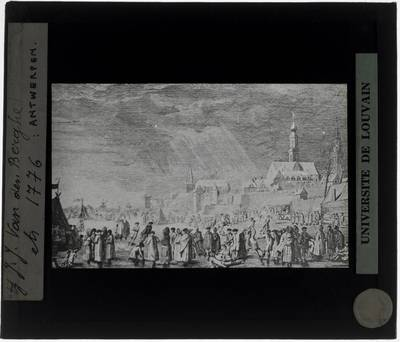 Antwerpen. Prent Panorama (1776)