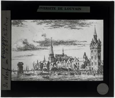 Antwerpen. De werf in 1650