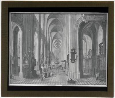 Wolfgang de Smet. Interieur van de Sint-Pieterskerk