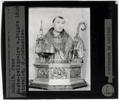 Jean Goesin. Reliekschrijn van Sint-Poppo