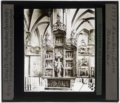 Rudolph Loesen. Heinrich Douvermann. Maria-altaar