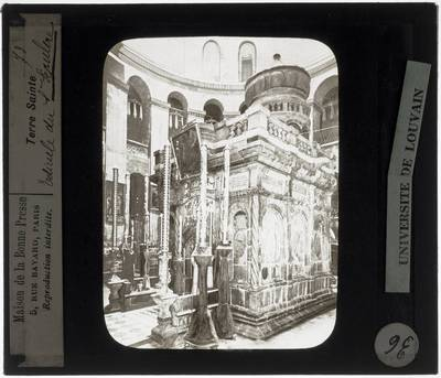 Jeruzalem. Heilig Grafkerk Interieur: Heilig Graf