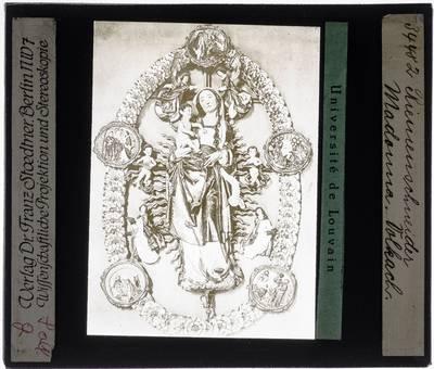 Tilmann Riemenschneider. Madonna van de Rozenkrans