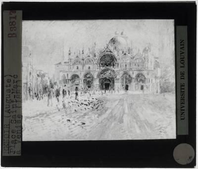 Auguste Renoir. Piazza San Marco, Venetië