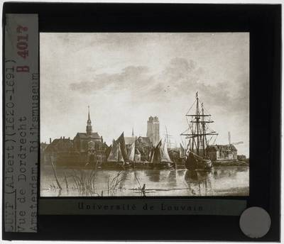Aelbert Cuyp. Zicht op Dordrecht Detail