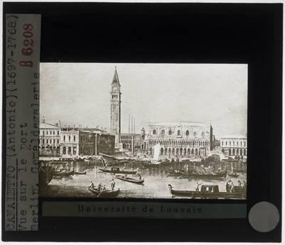 Canaletto. Piazzeta en Bacino in Venetië