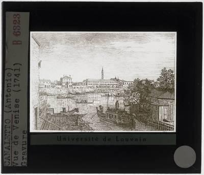 Canaletto. Zicht op Venetië