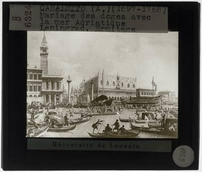 Canaletto. De verloving van de Venetiaanse doge aan de Adriatische Zee