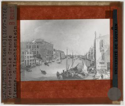 Canaletto. Grand Canal in Venetië