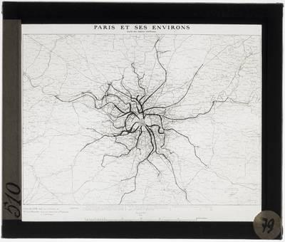 Paris. Geological map