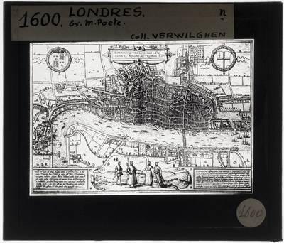 Joris Hoefnagel. Map of London