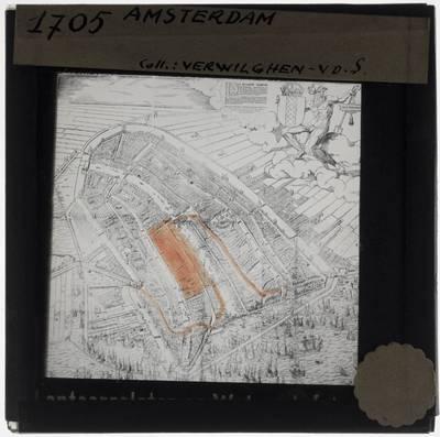 Cornelis Anthonisz. Map of Amsterdam