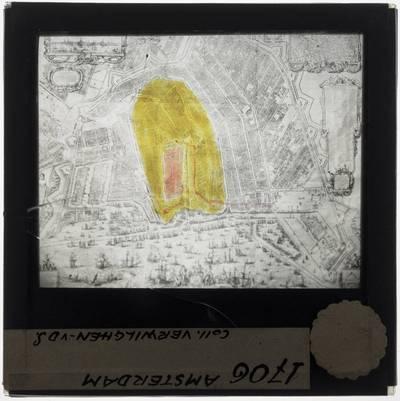 Balthasar Florisz. van Berckenrode. Map of Amsterdam