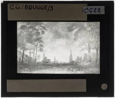 Brugge. Panorama