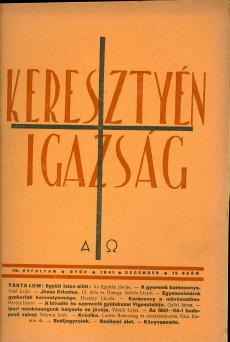 Keresztyén Igazság 1941 (december)