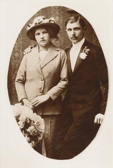 Kiss József és neje Horváth Erzsébet