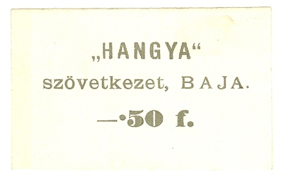 Bajai szükségpénz