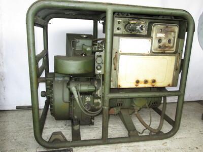 Ismeretlen típusú benzinmotoros aggregátor