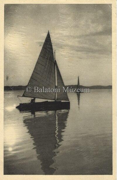 Szélcsend a Balaton felett