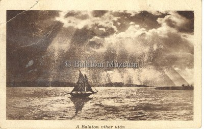 A Balaton vihar után