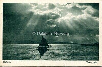 Balaton. Vihar után