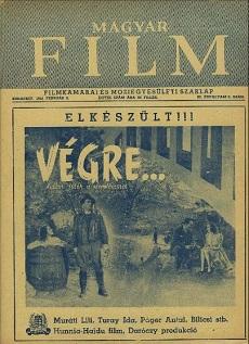 Magyar Film 1941 III. évfolyam 6. szám