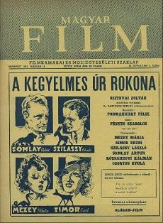 Magyar Film 1941 III. évfolyam 7. szám
