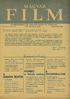 Magyar Film 1939 I. évfolyam 24. szám