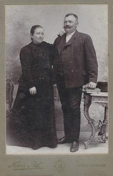 Fekete József és neje