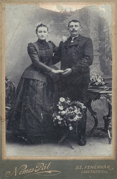 Fister Ferencz és Almási Mária