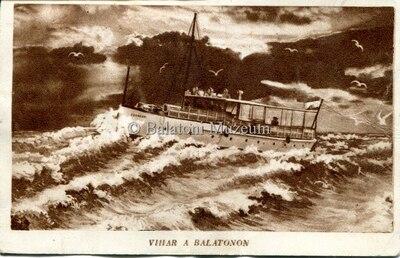 Vihar a Balatonon