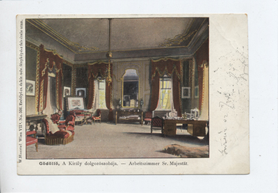 A király dolgozószobája, Gödöllő