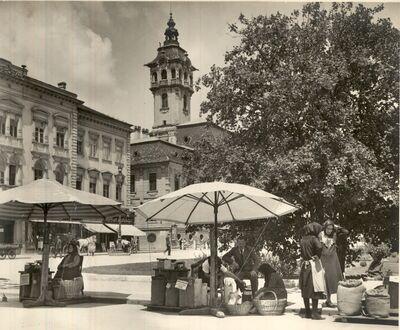 Piac Szeged 1930-as évek