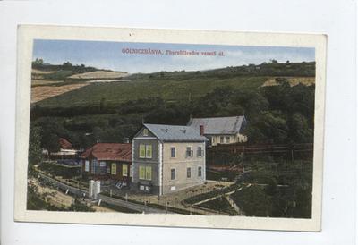 A Thurzófüredre vezető út, Gölniczbánya