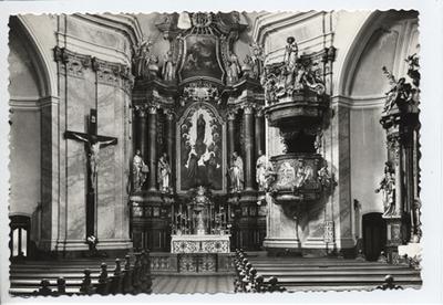 Kármelita templombelső, Győr