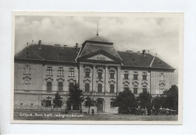 Római katolikus Reálgimnázium, Gyula
