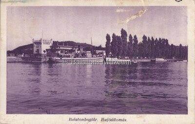 Balatonboglár, Hajóállomás