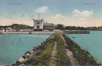 Balatonboglár, Gőzhajó kikötő