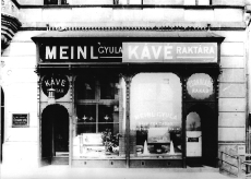 Meinl üzlet Budapest 1900-1930