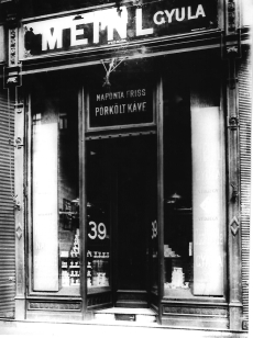 Meinl üzlet Budapest 1930.