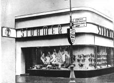 Stühmer üzlet Budapest 1935.