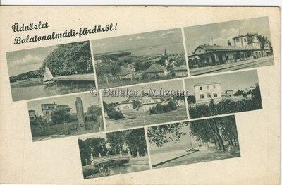 Üdvözlet Balatonalmádi-Fürdőről!