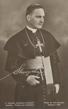 Shvoy Lajos megyés püspök