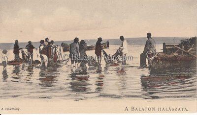 A Balaton halászata. A zsákmány.