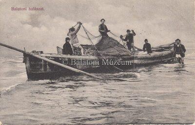 Balatoni halászat.
