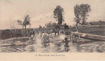 A Balaton halászata.