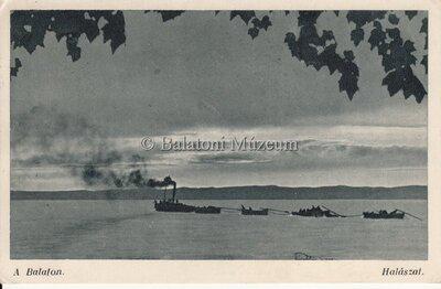 A Balaton. Halászat.