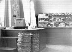 118. sz. Önkiszolgáló Élelmiszerbolt, Hódmezővásárhely 1960.