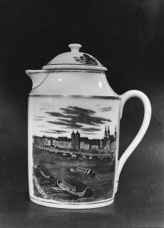 Prágai kávés kancsó 1812.