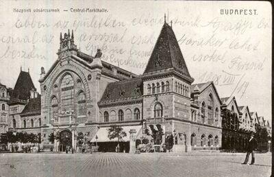 Központi Vásárcsarnok, Budapest 1908